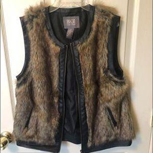 BKE Fur Vest